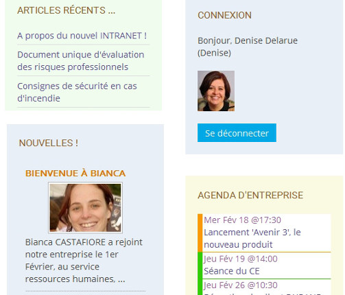 open source logiciel Intranet News e-learning