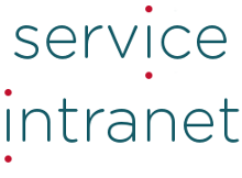 logo service intranet vertical