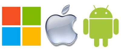 microsoft apple android